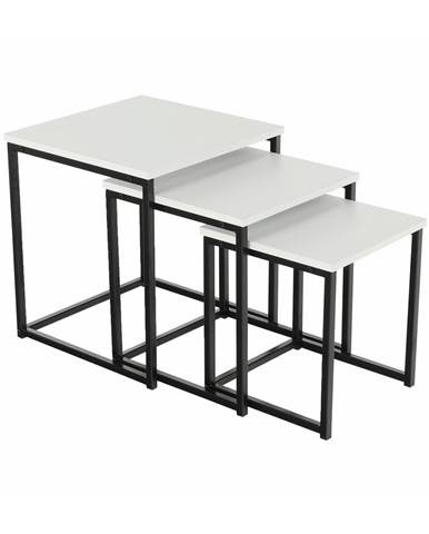Kastler Typ 3 konferenčný stolík (3 ks) čierna