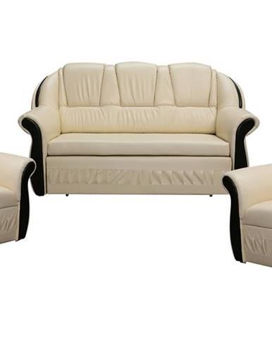 Latino 3+1+1 rozkladacia sedacia súprava béžová