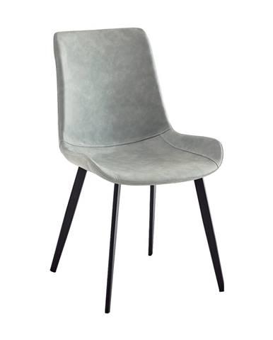 Niro jedálenská stolička sivá