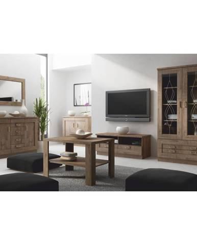 Tedy rustikálna obývacia izba dub lefkas