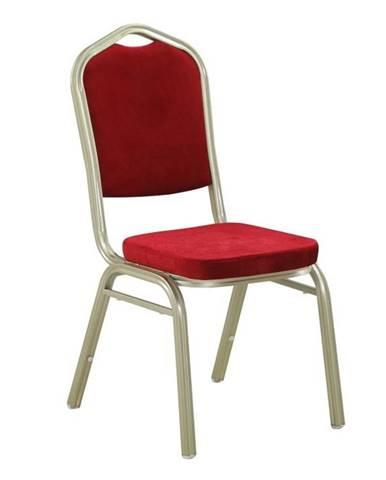 Zina 2 New konferenčná stolička bordová