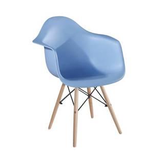 Damen New jedálenská stolička modrá