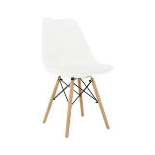 Kemal New jedálenská stolička biela