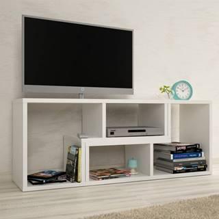 Vario univerzálny tv stolík biela