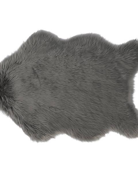 Kondela Ebony Typ 5 umelá kožušina 60x90 cm sivá