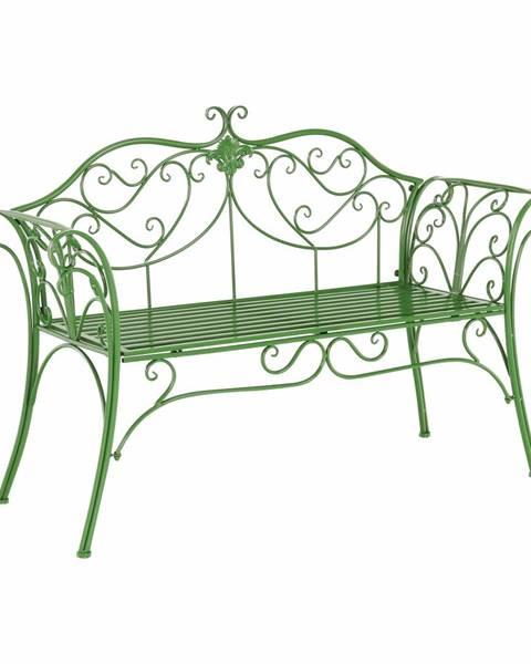 Tempo Kondela Etelia záhradná lavička zelená