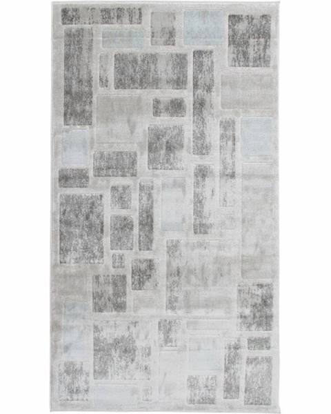 Kondela Heather koberec 67x120 cm svetlosivá