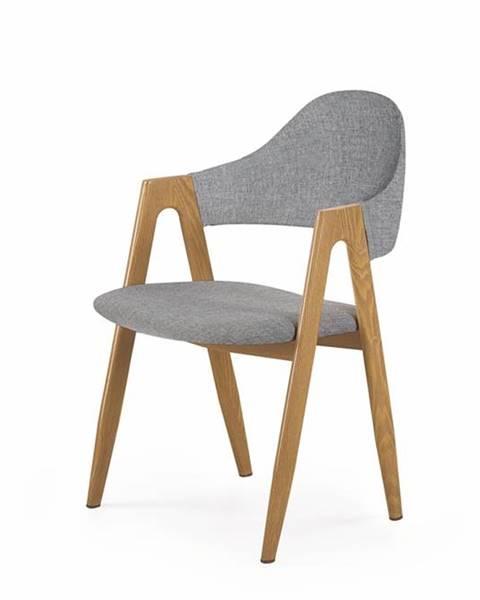 Halmar K344 jedálenská stolička sivá