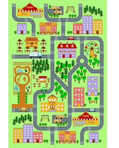 Ebel koberec 100x150 cm kombinácia farieb