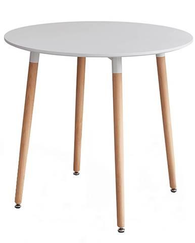 Elcan 80 okrúhly jedálenský stôl biela