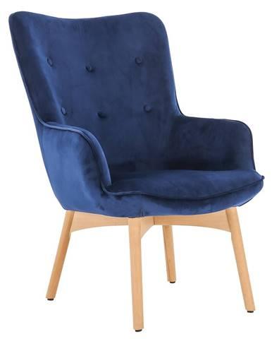 Fodil kreslo modrá