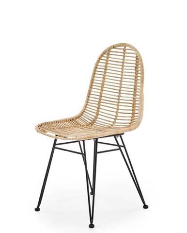 K337 jedálenská stolička prírodná