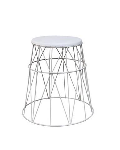 Lavon príručný stolík biela