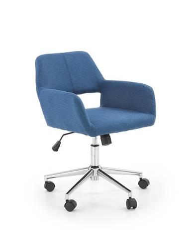 Morel kancelárska stolička modrá