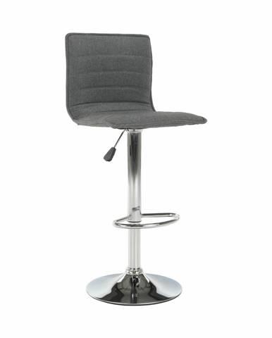 Pinar barová stolička sivá