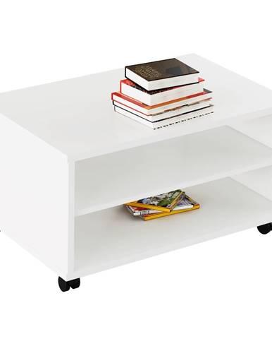 Rioma Typ 32 konferenčný stolík na kolieskach biela