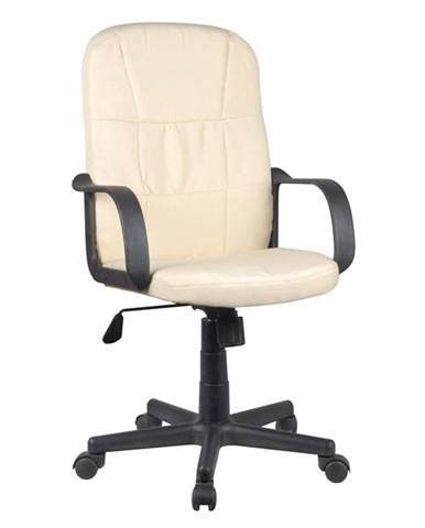 TC3-7741 New kancelárske kreslo s podrúčkami béžová