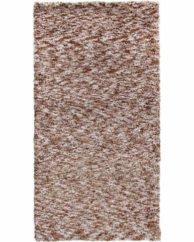 Toby koberec 140x200 cm svetlohnedá melírovaná