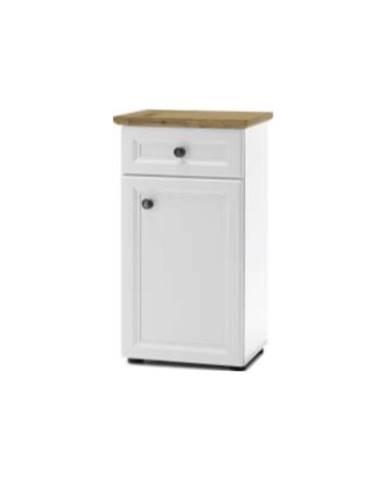 Toskana skrinka do kúpeľne biela