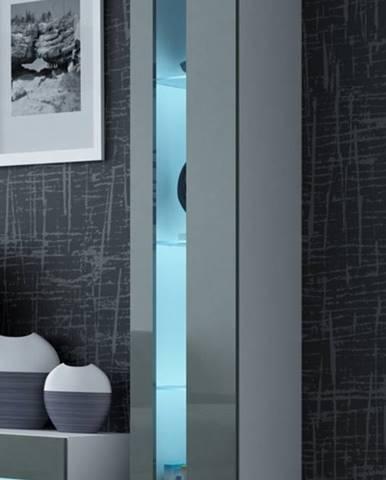 Vigo New 180 vitrína na stenu biela