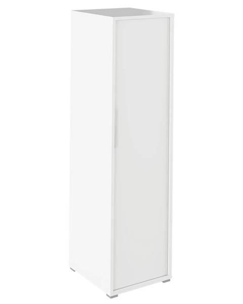 Kondela Rioma Typ 20 vešiaková skriňa biela