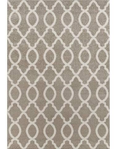 Desta koberec 160x235 cm svetlosivá