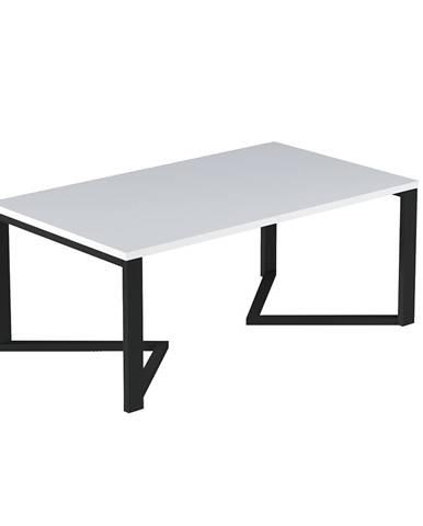 Ginzo konferenčný stolík biela matná