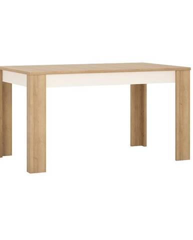 Leonardo LYOT03 rozkladací jedálenský stôl dub riviera