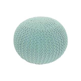 Gobi Typ 2 pletená taburetka mentolová