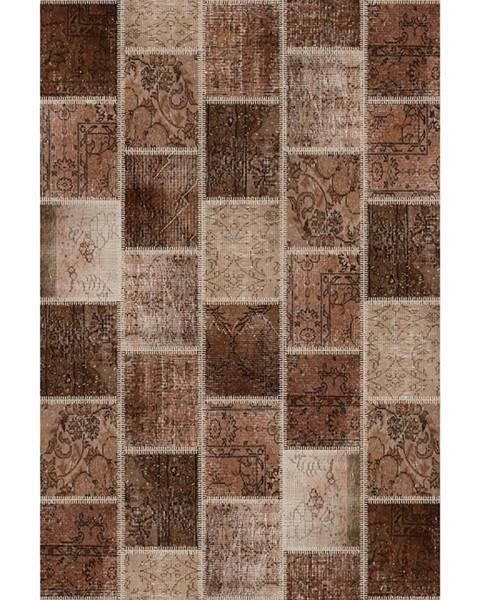 Kondela Adriel Typ 2 koberec 80x150 cm hnedá