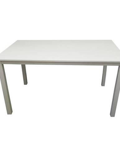 Astro jedálenský stôl 135 cm biela