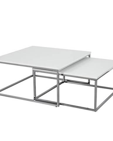 Enisol konferenčný stolík (2 ks) biela