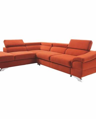 Legas L rohová sedačka terakota