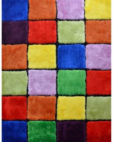 Ludvig Typ 4 koberec 140x200 cm červená