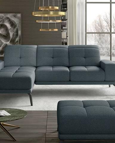Tirreno L rohová sedačka modrá (Grande 75)