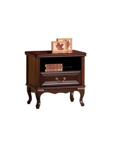 Wersal W-SZN rustikálny nočný stolík wenge