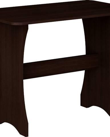 ZKU-03 jedálenský stôl sonoma tmavá