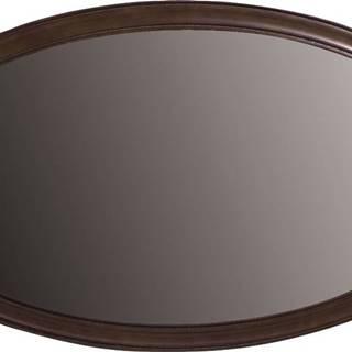 Verona V-L rustikálne zrkadlo na stenu hnedá