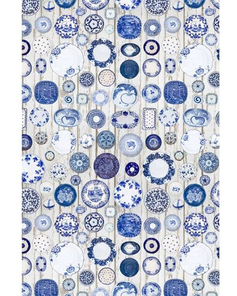 Tempo Kondela Parlin koberec 160x230 cm modrá