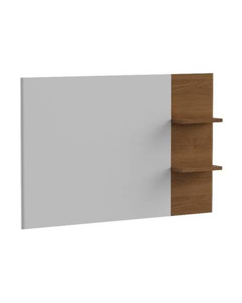 TARANKO Torino TO tv panel na stenu biely vysoký lesk