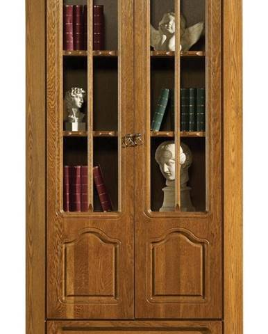Kinga rustikálna knižnica drevo D3