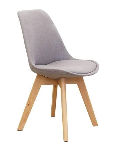 Lorita jedálenská stolička sivá