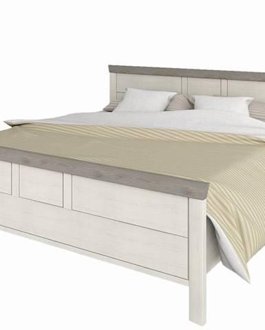 Orentano 160 manželská posteľ s roštom pino aurelio