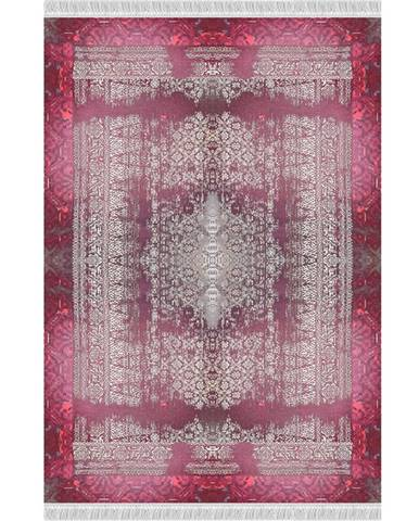 Veldar koberec 160x230 cm vínovočervená