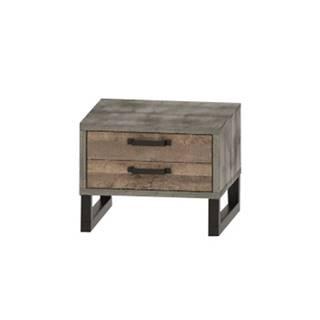Bova BC nočný stolík so zásuvkami pieskový dub