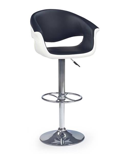 Halmar H-46 barová stolička čierna