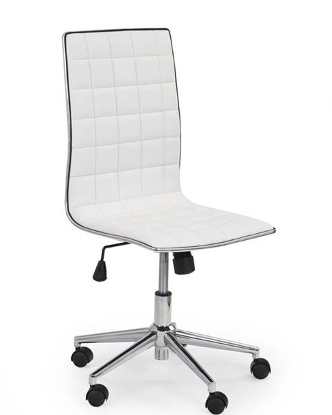 Halmar Tirol kancelárska stolička biela