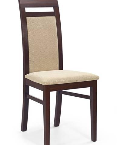 Albert jedálenská stolička tmavý orech