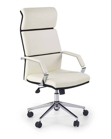 Costa kancelárske kreslo s podrúčkami biela