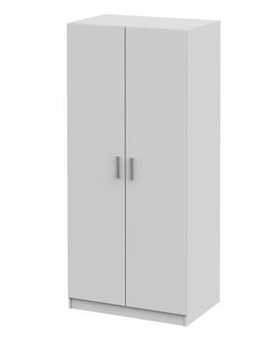 Invita Typ 4 2D šatníková skriňa biela
